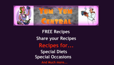 Free recipes for various diets at Yum Yum Central