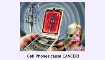 Cell phones cause brain cancer