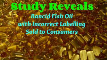 Rancid Fish oil capsules found on shop shelves