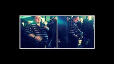 Over weight dancing man shamed