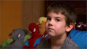 One little boys way of dealing with grief