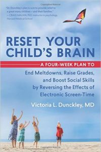 Book by psychiatrist Dr Victoria L. Dunckley, M.D.