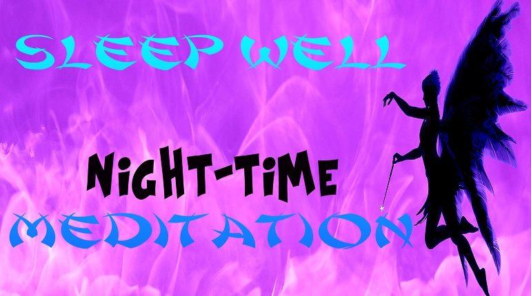 Sleep Well Guided Meditation for a Better Nights Sleep