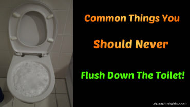 Common Things You Should Never Flush Down The Toilet