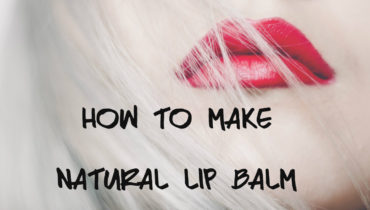 How to make natural lip balm