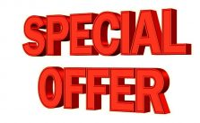 Special Deals for you