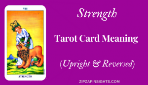 The Strength tarot card meaning