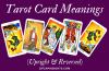 Tarot Card Meanings for all 78 cards of the tarot deck