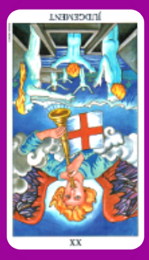Discover the meaning of The Judgement tarot card reversed