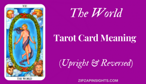 Discover the meaning of The World tarot card